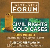 University Forum Speaker: Jerry Mitchell