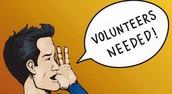 Staff Volunteers Needed