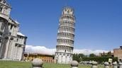 Torre de piza (Toscana, italia)