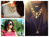 Zora Crystal Necklace, retail $168, FLASH SALE $84