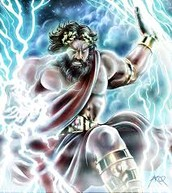 """Zeus"" The God of lightning"