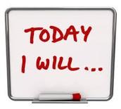 Set Daily Goals; Achieve Goals