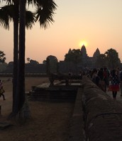 Sunrise in Cambodia!!