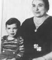 Al Capone and his mother Teresina Capone