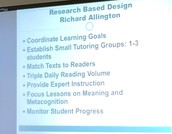 Research Based Design