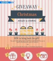 Christmas Giveaway event.