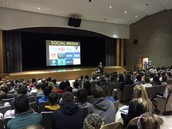 Bucks County District Attorney speaks to Ninth Grade at Tohickon