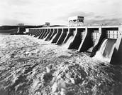 Dams built back then