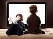 Nos gustaba ver los dibujos animados porque no nos gustaba jugar afuera