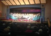 Novi Middle School Choir