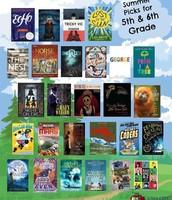 5-6 Summer Reading List