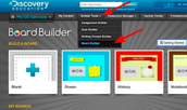 Discovery Education Board Builder