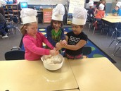 Making Loaves of Bread for Thanksgiving