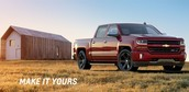 This is the new 2016 model of the Chevy Silverado