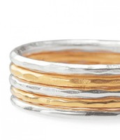 Stackable Band Rings Size 8