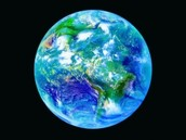 Earth's water in a sphere