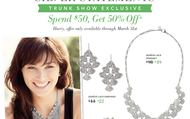 March Trunk Show Specials