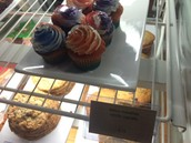 Dance Marathon cupcakes available in the Bistro!