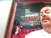 Coach Wagner with an Elfie Selfie