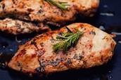 die Hühnerbrust