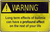 Warning how to avoid Bulimia Nervosa