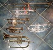 Trumpets weren't always their