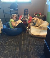 Williow has enjoyed many friends coming to read and visit!