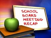 April School Board Activity