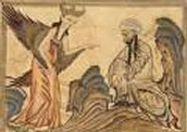 Prophet Muhammad and Angel Gabriel