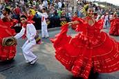 Cumbia Dancing