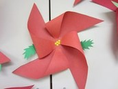 Pinwheel Ornaments