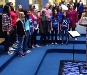 FSMS Girls Choir Entertains