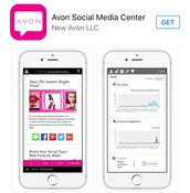 Download the NEW awesome AVON app on your smartphone