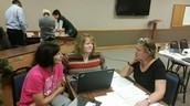 Mexico School District PBIS team met on 12/8/15