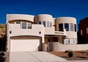 Modern Adobe House