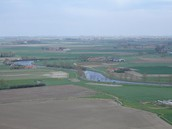 Polders over the Yser River