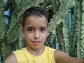 Dídac con 9 años