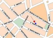 Nos encontramos en la C/ Santa Teresa, en Madrid, ven a visitarnos!!!