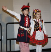 Traditional Polish Festival Clothing