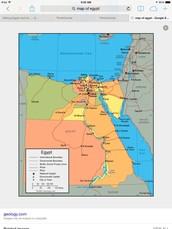 Major cites of Egypt
