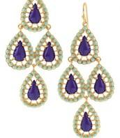 Seychelles Earrings, Blue