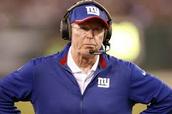 New York giants football coach Tom Coughlin said