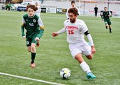 Cole Pappas was named WPIAL Single A Player of the Year for Soccer.