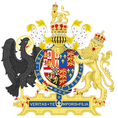 English Coat of Arms used by Queen Mary I
