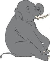 How do you eat an elephant?....