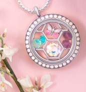 Gorgeous new lockets, plates, and crystals!