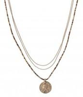 Aura Coin Drop Necklace