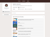 """""""ABOUT"""" Tab: Create a Resource Roundup"""