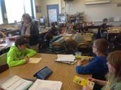 Mrs. Edginton's Fifth Grade Class