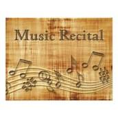 Private Lesson Music Recital this Sunday!